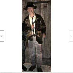 Indiana Jones Cosplay Costume Large Youth Complete
